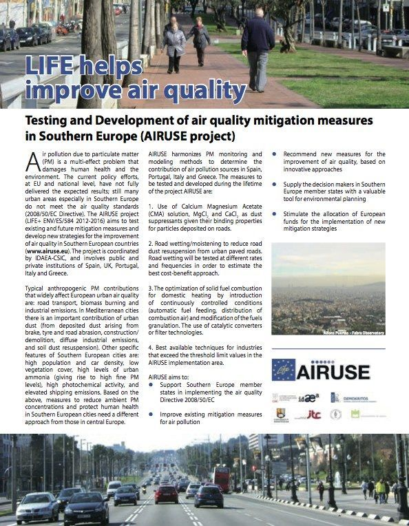 AIRUSE article ONLY, from