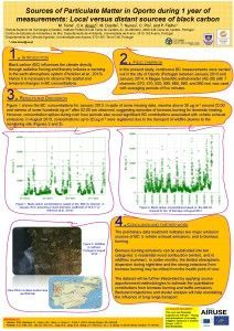 MTome_sources of Particulate Matter in Oporto during _Airmon2014